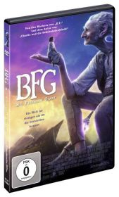 BFG - Big Friendly Giant, DVD Cover