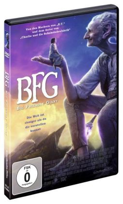 BFG - Big Friendly Giant, DVD