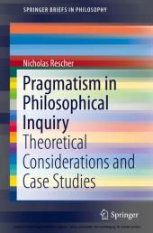 Pragmatism in Philosophical Inquiry