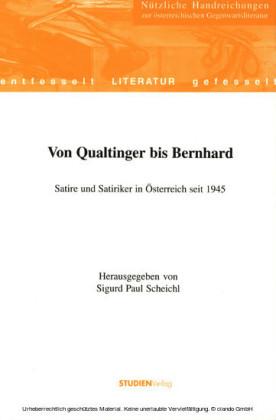 Von Qualtinger bis Bernhard