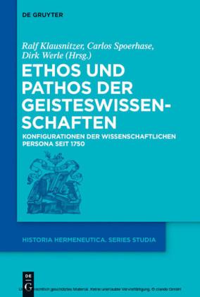 Ethos und Pathos der Geisteswissenschaften