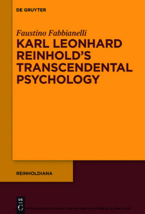 Karl Leonhard Reinhold's Transcendental Psychology