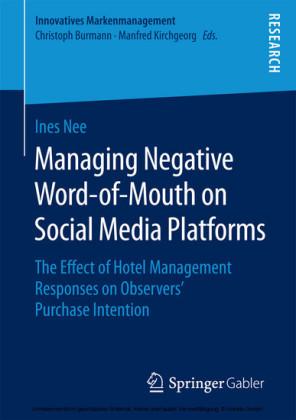 Managing Negative Word-of-Mouth on Social Media Platforms