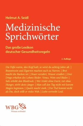 Medizinische Sprichwörter