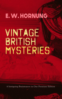 VINTAGE BRITISH MYSTERIES - 6 Intriguing Brainteasers in One Premium Edition