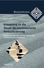 Erinnerung an die Shoah als missionarische Herausforderung Cover