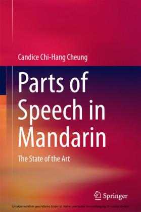 Parts of Speech in Mandarin