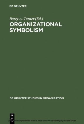 Organizational Symbolism