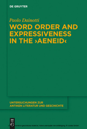 Word Order and Expressiveness in the 'Aeneid'