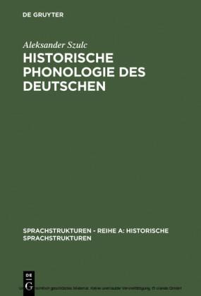 Historische Phonologie des Deutschen