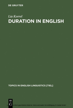 Duration in English