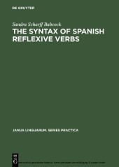 The Syntax of Spanish Reflexive Verbs