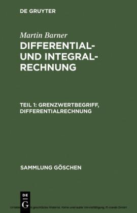Grenzwertbegriff, Differentialrechnung