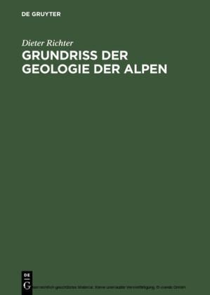 Grundriss der Geologie der Alpen