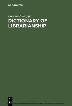 Dictionary of Librarianship