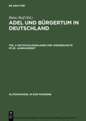 Entwicklungslinien und Wendepunkte im 20. Jahrhundert