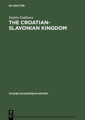 The Croatian-Slavonian Kingdom