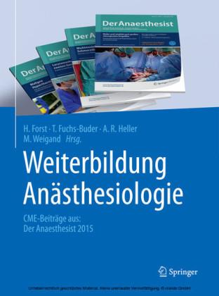 Weiterbildung Anästhesiologie