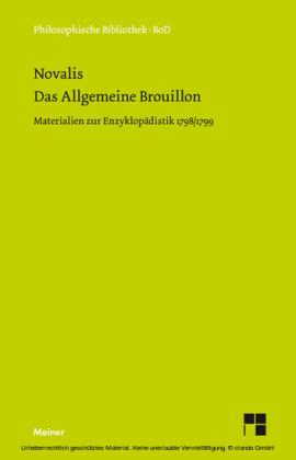 Das allgemeine Brouillon