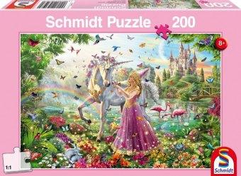 Schöne Fee im Zauberwald (Kinderpuzzle)