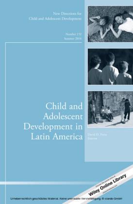 Child and Adolescent Development in Latin America