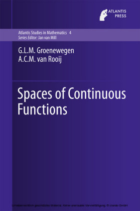 Spaces of Continuous Functions