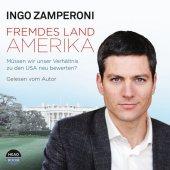 Fremdes Land Amerika, 4 Audio-CDs Cover
