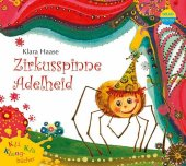 Zirkusspinne Adelheid, 1 Audio-CD Cover