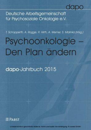Psychoonkologie - Den Plan ändern