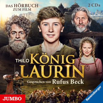 König Laurin, 2 Audio-CDs