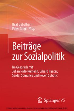 Beiträge zur Sozialpolitik