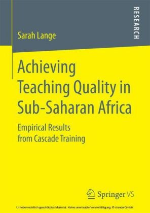 Achieving Teaching Quality in Sub-Saharan Africa