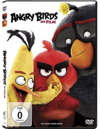 Angry Birds - Der Film, 1 DVD + Digital UV
