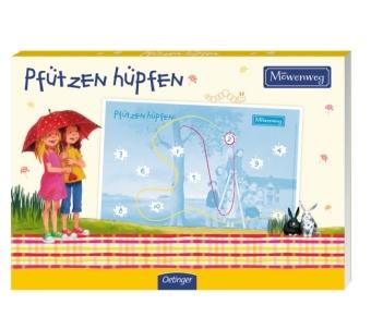 Möwenweg Blockspiel - Pfützen hüpfen (Kinderspiel)