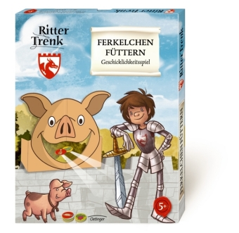 Der kleine Ritter Trenk, Ferkelchen füttern (Kinderspiel)