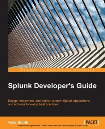 Splunk Developer's Guide