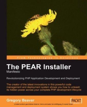 PEAR Installer Manifesto