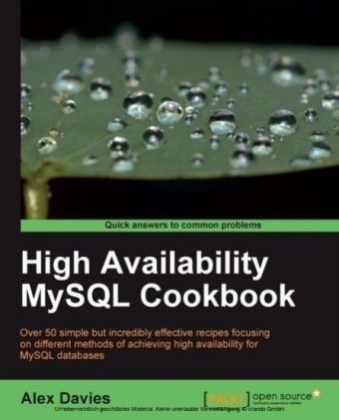 High Availability MySQL Cookbook