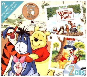 Winnie Puuh - Kinofilme - 90. Geburtstag, 2 Audio-CDs