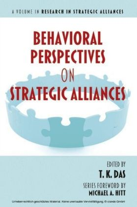 Behavioral Perspectives on Strategic Alliances