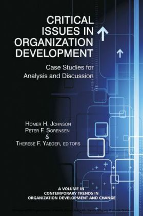 Critical Issues in Organizational Development