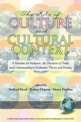 The Role of Culture and Cultural Context in Evaluation