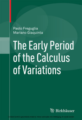The Early Period of the Calculus of Variations