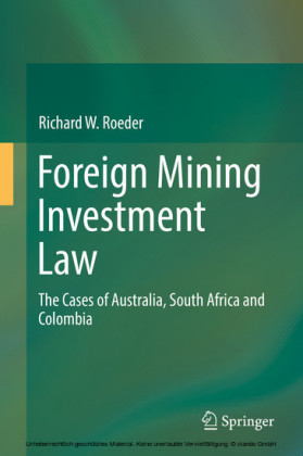 Foreign Mining Investment Law