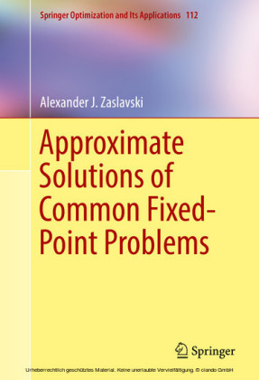 Approximate Solutions of Common Fixed-Point Problems