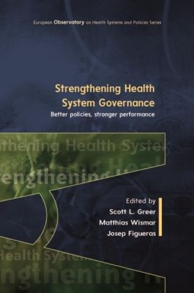 Strengthening Health System Governance