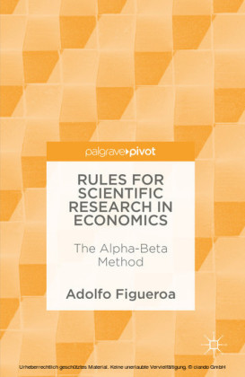 Rules for Scientific Research in Economics