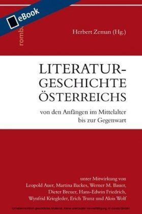 Literaturgeschichte Österreichs