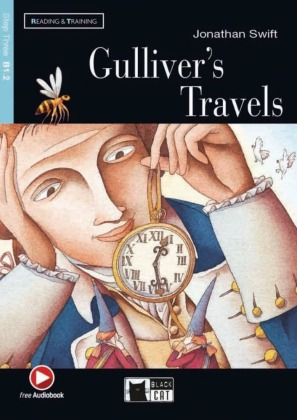 Gulliver's Travels, w. Audio-CD