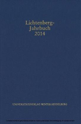 Lichtenberg-Jahrbuch 2014